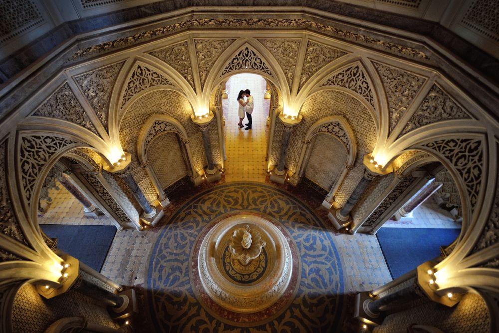 Sintra_Palacio-de-Monserrate2 Lua de mel em Portugal - registros para guardar no coração