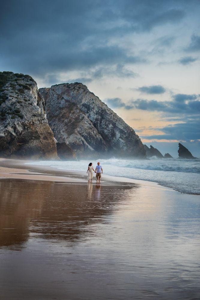 Sintra_Praia-da-Adraga Lua de mel em Portugal - registros para guardar no coração