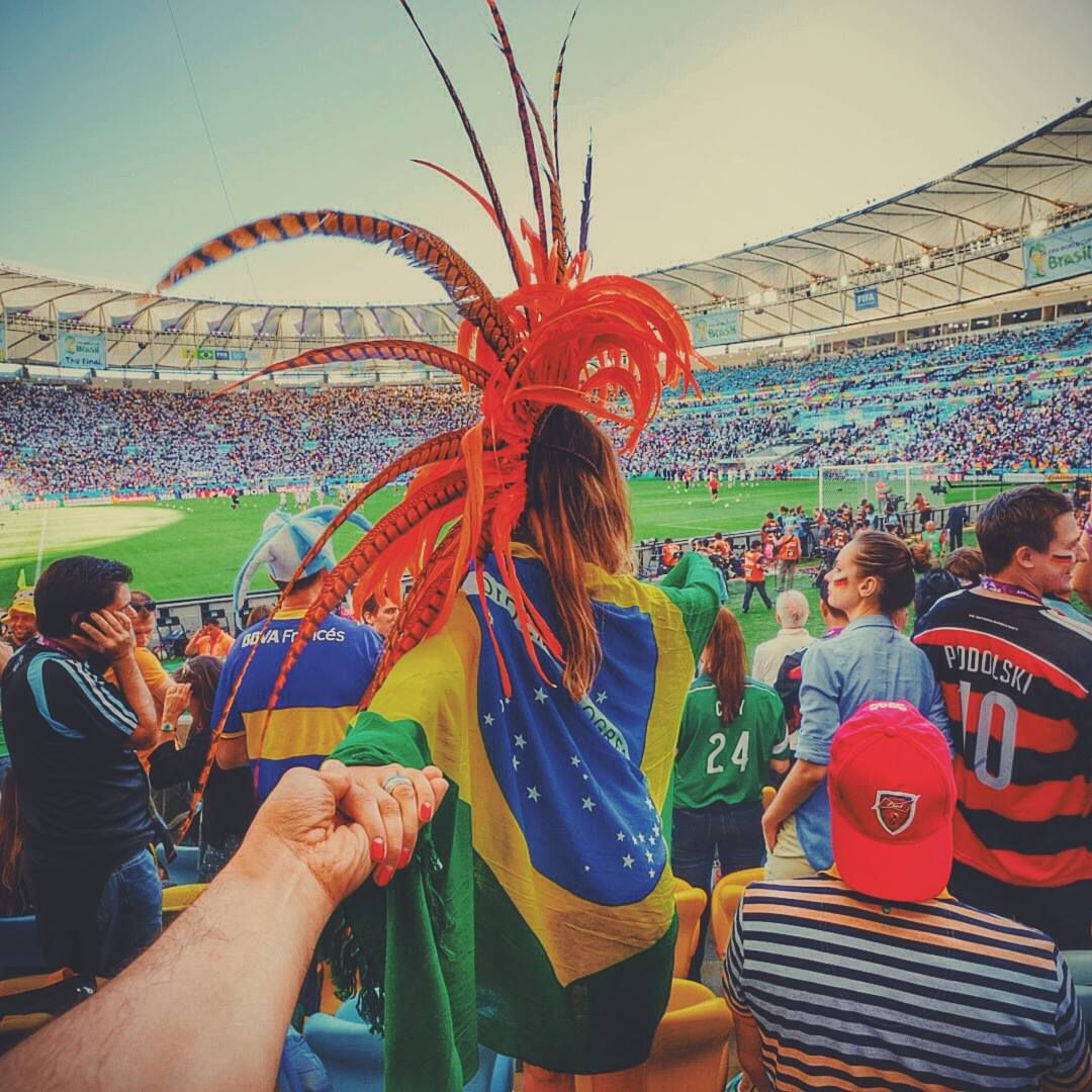 no Maracanã - Follow Me Project by Murad Osmann