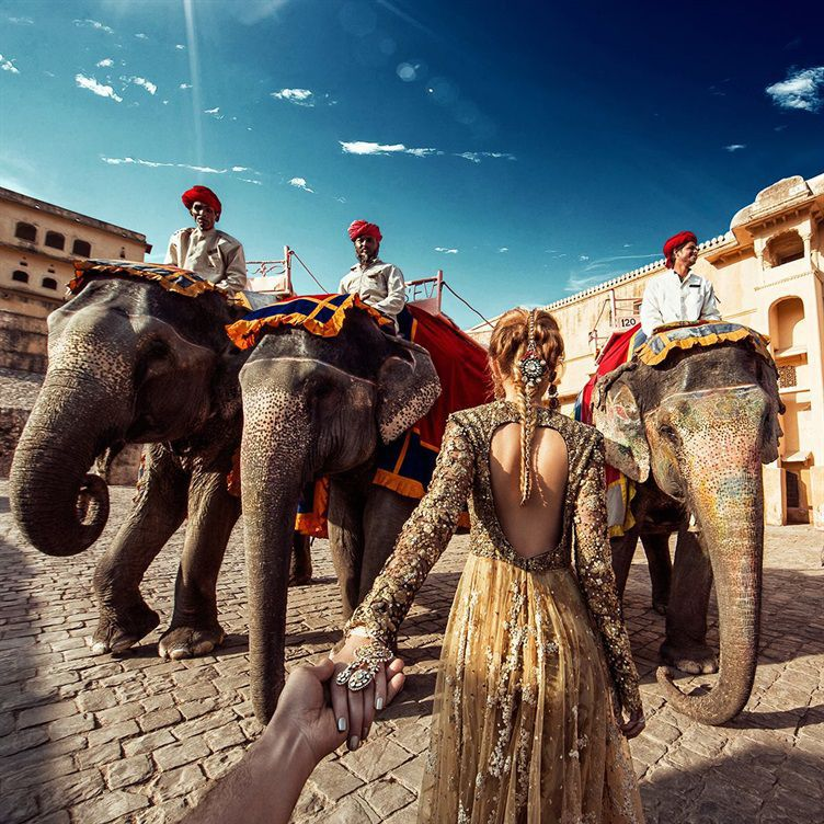 Forte Amer em Jaipur - Follow Me Project by Murad Osmann