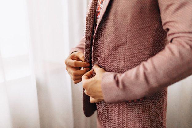noivo-estiloso-terno-estampado Noivo estiloso: como ousar e ser original no dia do casamento
