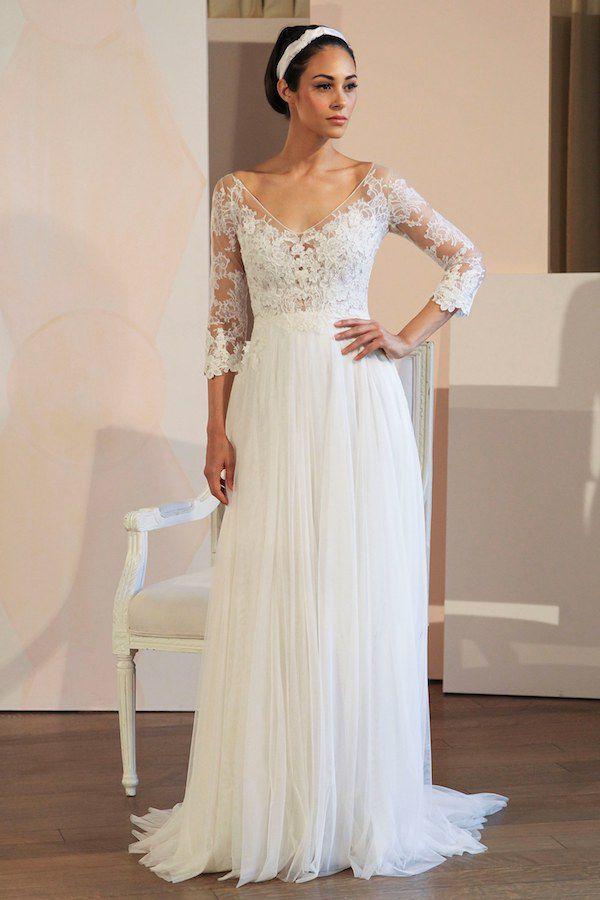 ANNE-BARGE Primavera e Verão: tendências de vestido de casamento para 2020