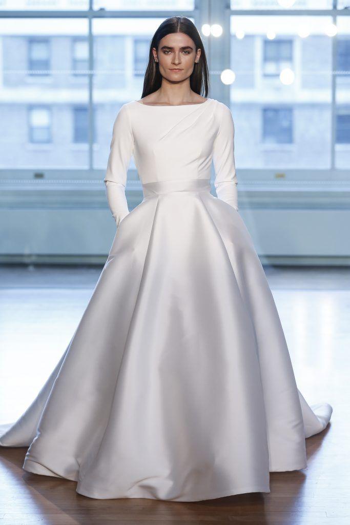 Justin-Alexander Primavera e Verão: tendências de vestido de casamento para 2020