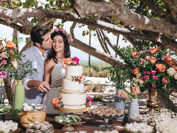 casamentos de famosos 2019 - Aline de Pádua e Daniel