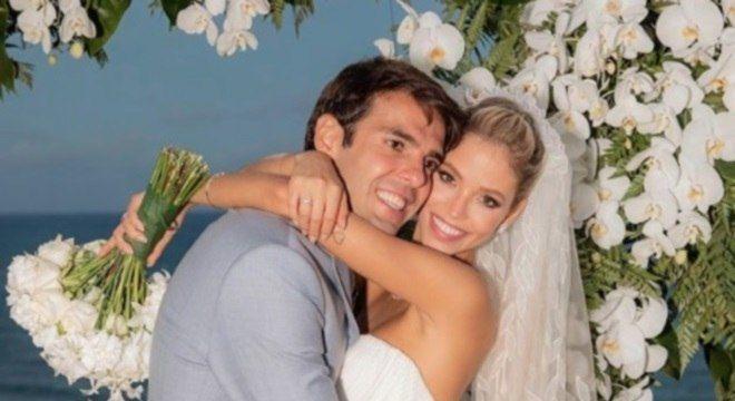 casamentos de famosos 2019 - Kaká e Carol Dias