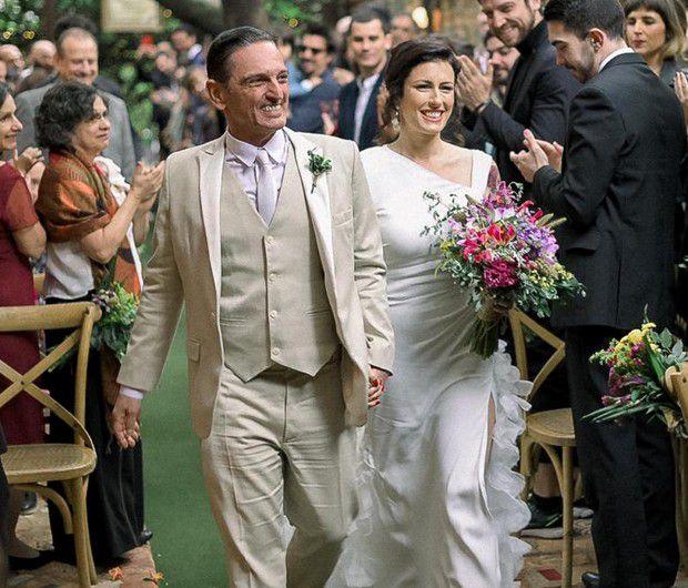 casamentos de famosos 2019 - Renata Galvão e Paulo Miklos