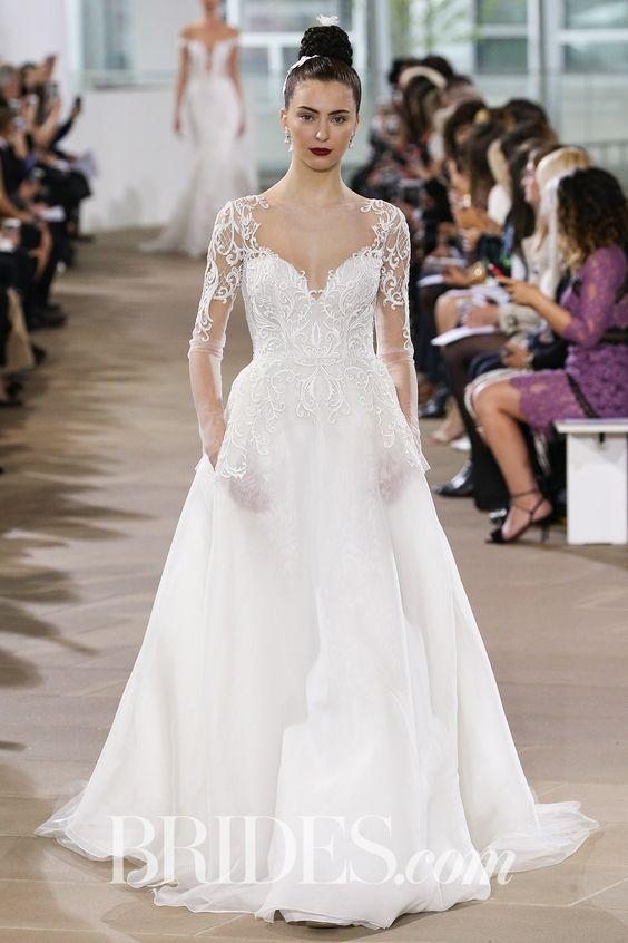 ines-di-santo Primavera e Verão: tendências de vestido de casamento para 2020
