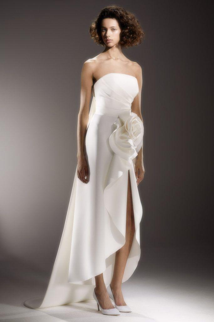 vestidos-casamento-2020_Viktor-and-Rolf-683x1024 Primavera e Verão: tendências de vestido de casamento para 2020